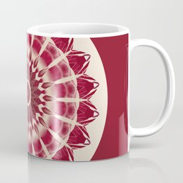 Mandala red splendor Coffee Mug