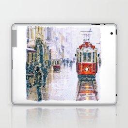 Istanbul Nostalgic Tramway Laptop & iPad Skin