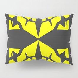 Gold X Pillow Sham