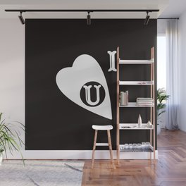 Ouija Love - Blacck Wall Mural