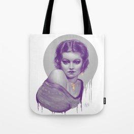 Purple Vintage Tote Bag