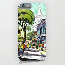 Duval Street, Key West iPhone Case
