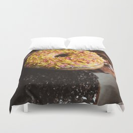 Donuts Duvet Cover