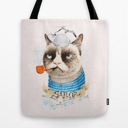 Sailor Cat VIII Tote Bag