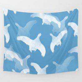 White Birds Against The Blue Sky #decor #society6 #homedecor Wall Tapestry