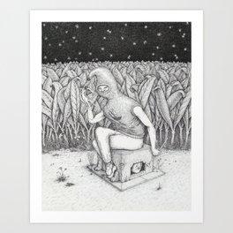 Claustrum Art Print