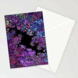 Flora-Purple Stationery Cards