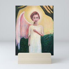 Broken Angel Mini Art Print