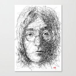 Imagine John Canvas Print