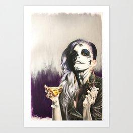 Catrina Sugar Skull Art Print