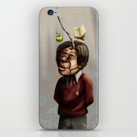 teacher iPhone & iPod Skins featuring Teacher by Lee Grace Design and Illustration