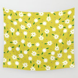 spring, yellow Wall Tapestry