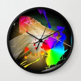Leasing Landscape Wall Clock