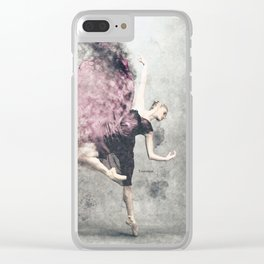 Dancing on my own Clear iPhone Case