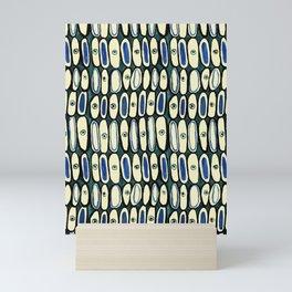 Whimsical Ovals Mini Art Print