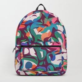 Just some colors abstract Backpack