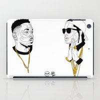 kendrick lamar iPad Cases featuring Kendrick Lamar by Timothy McAuliffe