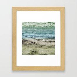 Mystic Stone Emerge Framed Art Print