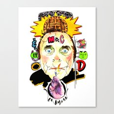 SNICK or TREAT. Canvas Print