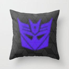 Simply Decepticon Throw Pillow