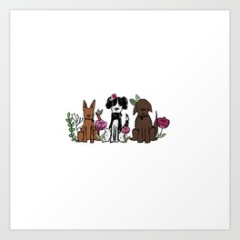 The Rescues Art Print