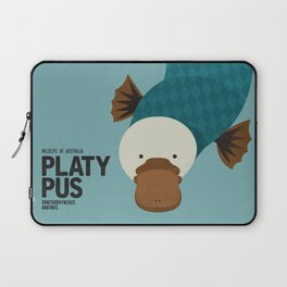 Hello Platypus Laptop Sleeve