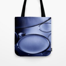Oil On Water - Midnight Blue Tote Bag
