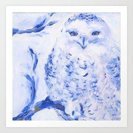 Insight: Snowy Owl Art Print
