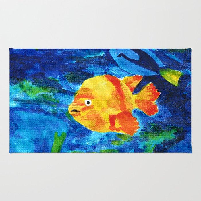 Fish 4 Series 1 Rug