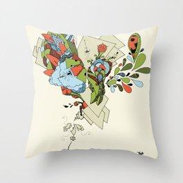 Flourish Throw Pillow