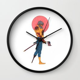 Wounded Nation Wall Clock