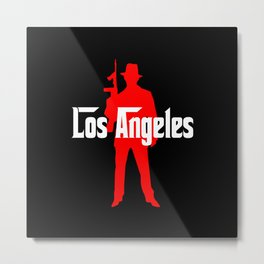 Los Angeles mafia Metal Print