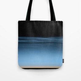 twilight shine on the horizon | space #17 Tote Bag