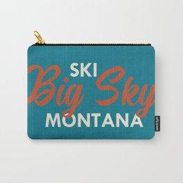Ski Big Sky Montana Vintage Poster Carry-All Pouch