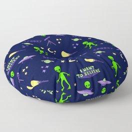 Close Encounters Floor Pillow
