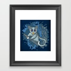 Bush Baby Framed Art Print