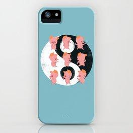 Pig Tai Chi Move iPhone Case