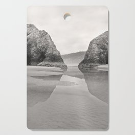 Tidal Pool Cannon Beach Oregon Coast Cave Forest Reflection Rocks Shoreline Nautical Northwest Pacif Cutting Board