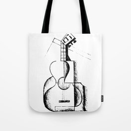 The Guitar, Cubist Juan Gris 1912 T Shirt, Art Reproduction Tote Bag
