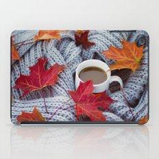 autumn coffee iPad Case