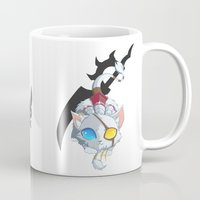 mew Mugs featuring [LoL] Mew Mew Rengar by RabbitKun