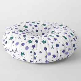 Immune Cells - Color Floor Pillow