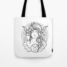 Zodiac Series   Taurus Tote Bag