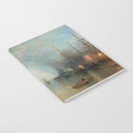 """J.M.W. Turner """"Keelmen Heaving in Coals by Moonlight"""" Notebook"""