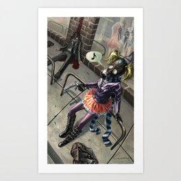 Murdergirl Art Print