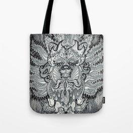 Trippy Kitty Tote Bag