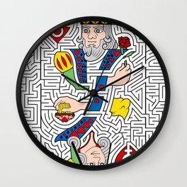 Heart to Heart Wall Clock
