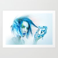 rare Art Prints featuring Rare Lewt by Imustbedead