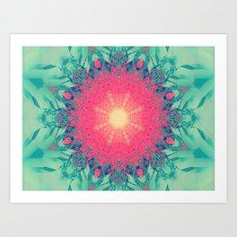 Iced Magma Art Print
