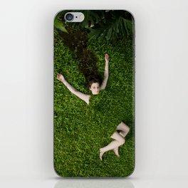 Green Mareen iPhone Skin